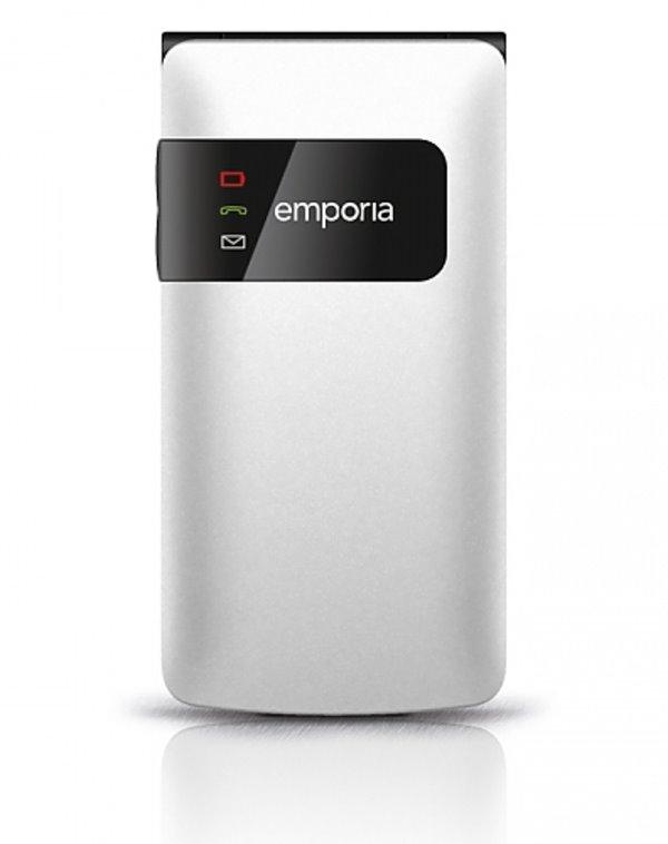 Mobilní telefon Emporia Flip basic Mobilní telefon, pro seniory, 2,2, TFT, bílý TELEMFLBAWH