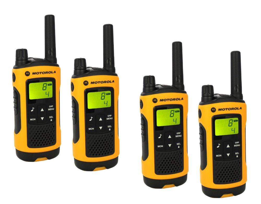 Vysílačka Motorola TLKR T80 Extreme, IPx4 Vysílačka, IPx4, 0,5 W, PMR 446, Quadpack p14MAA03A1BL