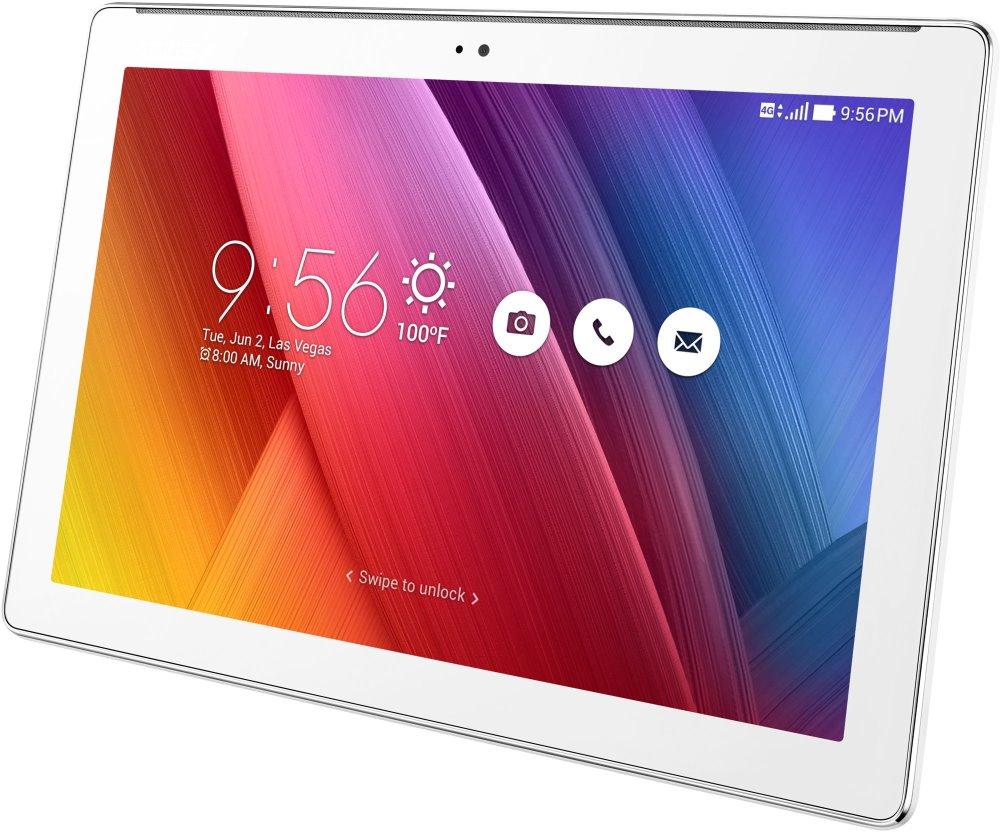Tablet ASUS ZenPad 10 Z300CNL-6B021A Tablet, Z3560, 2 GB, 32 GB, 10,1 IPS, 1280 x 800, GPS, BT, LTE, Wifi, Android M, bílý Z300CNL-6B021A