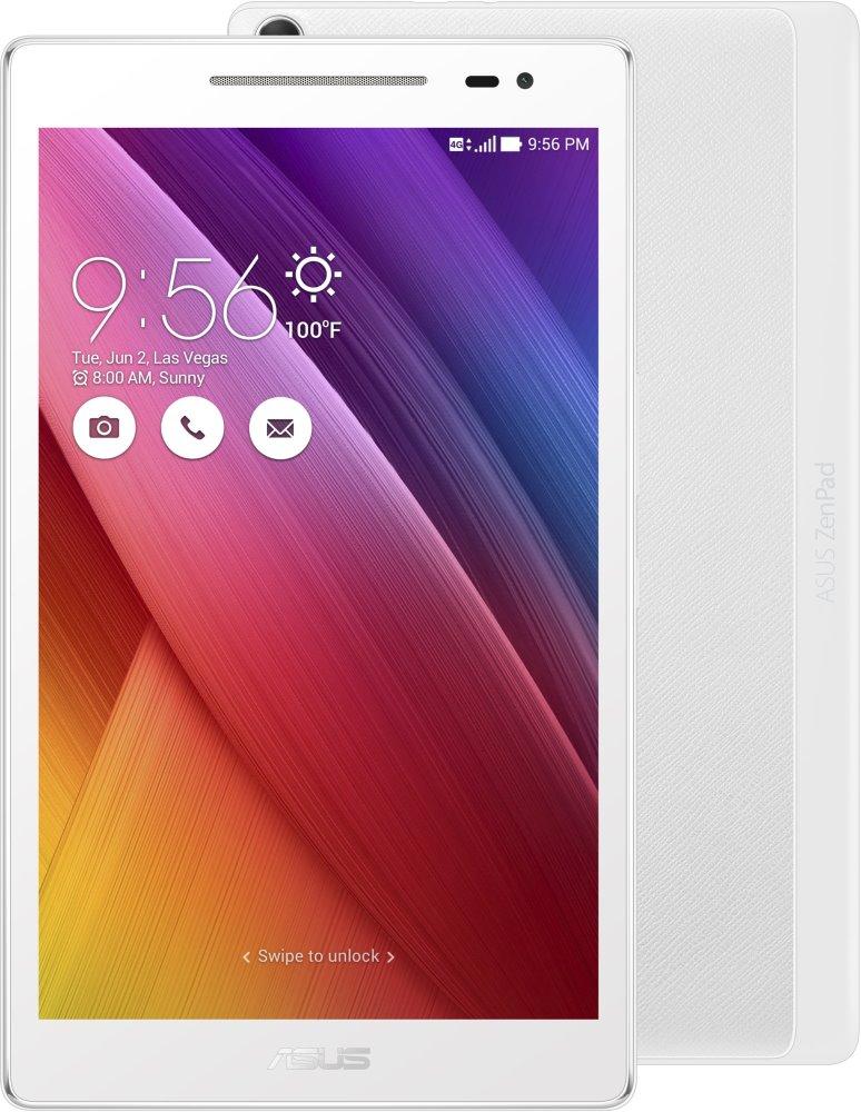 Tablet ASUS ZenPad 8 Z380KNL-6B014A Tablet, QC8916, 2 GB, 16 GB, 8 IPS, 1280x800, GPS, BT, LTE, Wi-Fi, Android 6.0, bílý Z380KNL-6B014A