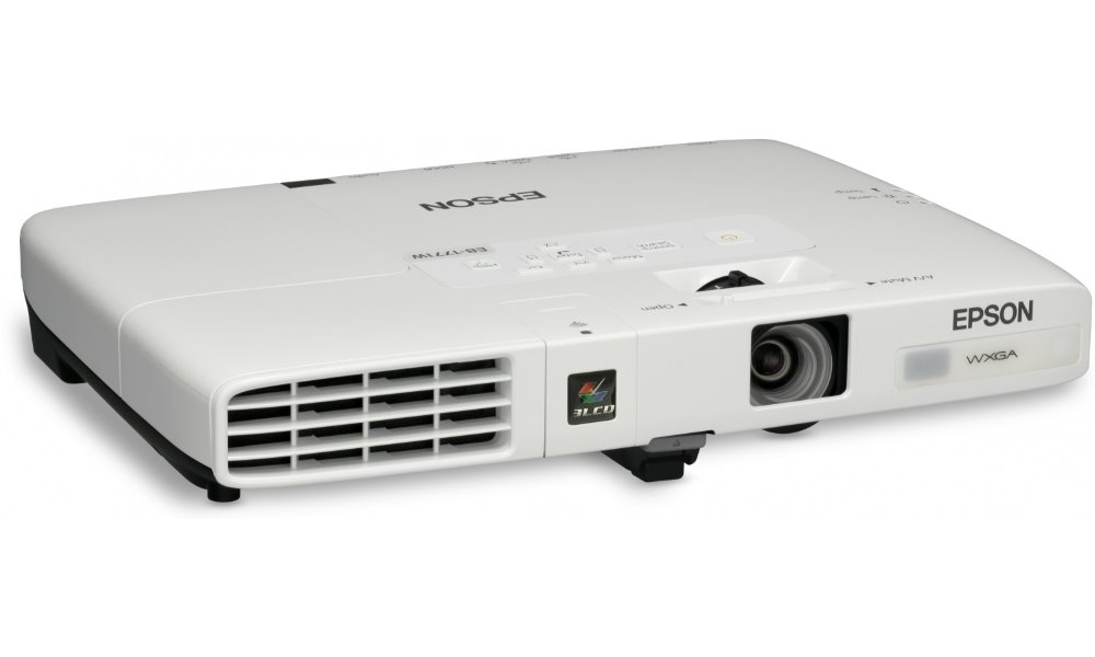 Projektor EPSON EB-1771W Projektor, WXGA, Projektor, 3LCD, 3000 ANSI, 2000:1, HDMI, bílý V11H477040