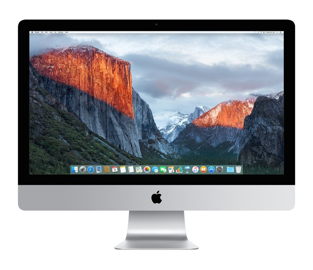 All-in-one počítač Apple iMac 27 All-in-one počítač, 27, 5K Retina, Core i5 3.2GHz, 8 GB, 1 TB Fusion, AMD Radeon R9 M390 2 GB MK472CZ/A
