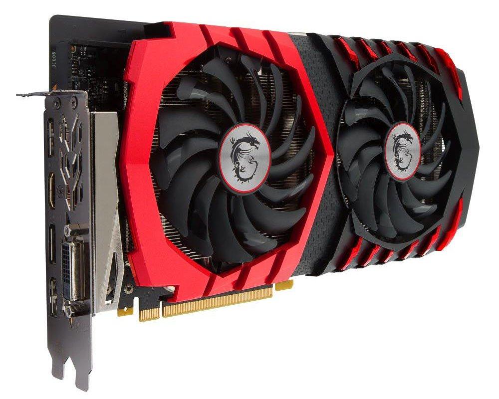 Grafická karta MSI GeForce GTX 1060 GAMING X 3G Grafická karta, PCI-E, 3 GB DDR5, HDMI, 3x DP, DVI GTX 1060 GAMING X 3G