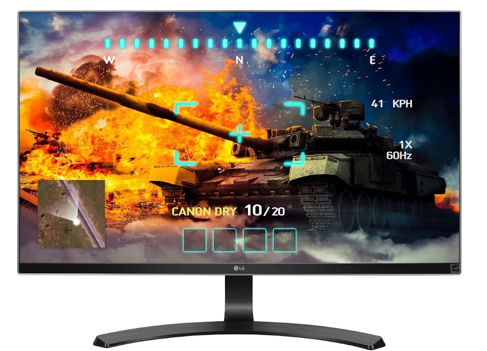 LED monitor LG 27UD68P 27 LED monitor, IPS, 27, 4k, 3840x2160, 300 cdi, 5M:1, 5 ms, 2x HDMI, DP, výškově stavitelný podstavec 27UD68P-B.AEU