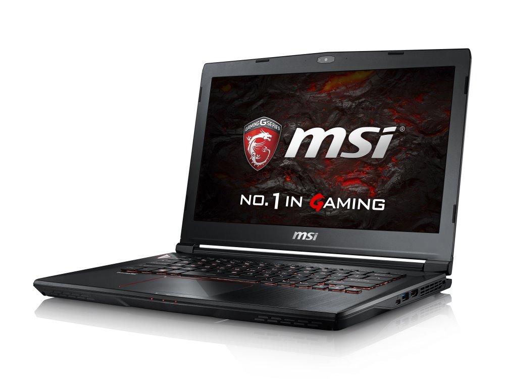 Notebook MSI GS43VR 6RE-021CZ Phantom Pro Notebook, 14 FHD, i7-6700HQ, 16 GB DDR4, 256 GB SSD M.2 + 1 TB, GTX 1060, W10 Home GS43VR 6RE-021CZ