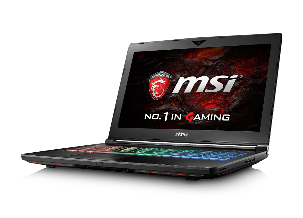 Notebook MSI GT62VR 6RE-052CZ Dominator Pro Notebook, 15,6 FHD, i7-6820HK, 16GB DDR4, 256GB SSD M.2 + 1TB, GTX 1070, W10 Home GT62VR 6RE-052CZ