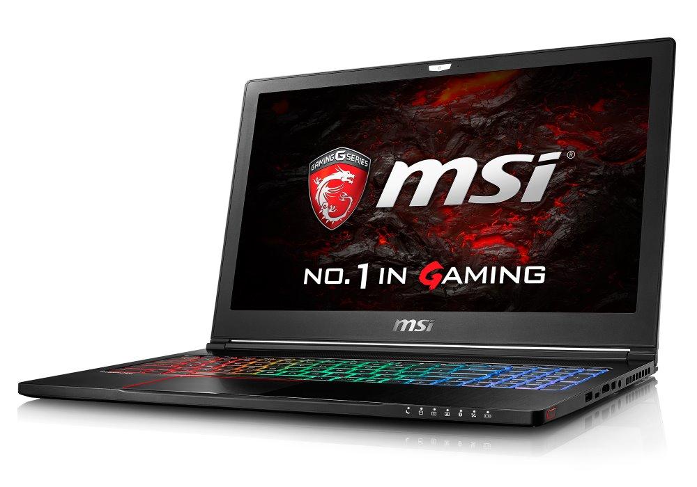 Notebook MSI GS63VR 6RF-051CZ Stealth Pro 4K Notebook, 15,6 UHD, i7-6700HQ, 16 GB DDR4, 512 GB SSD M.2 + 1 TB, GTX1060, W10 Home GS63VR 6RF-051CZ