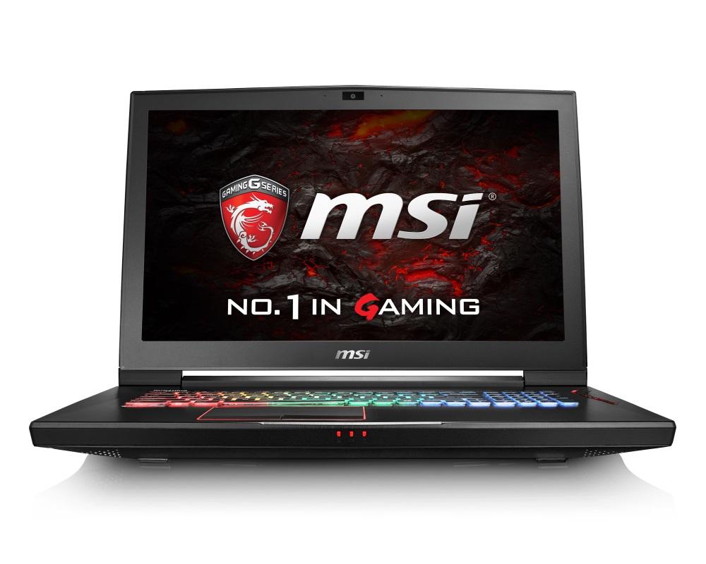Notebook MSI GT73VR 6RF-061CZ Titan Pro 4K Notebook, 17,3 UHD, i7-6820HK, 32GB DDR4, 2x256GB SSD M.2 + 1TB, GTX1080, W10 Home GT73VR 6RF-061CZ