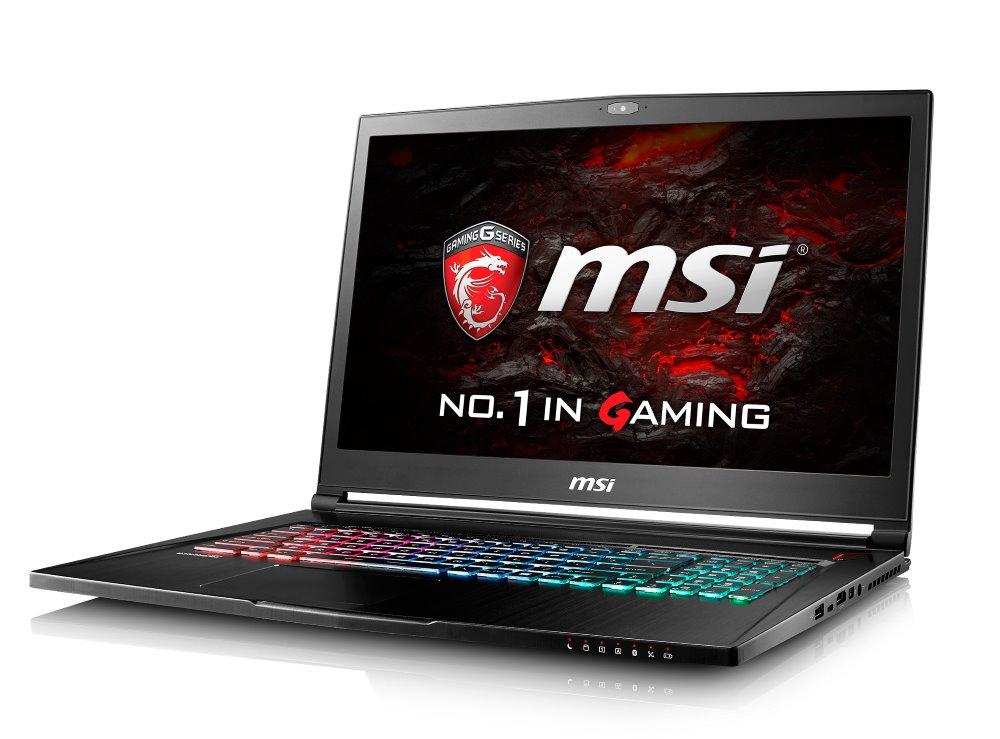 Notebook MSI GS73VR 6RF-047CZ Stealth Pro 4K Notebook, 17,3 UHD, i7-6700HQ, 16 GB DDR4, 512 GB SSD M.2 + 1 TB, GTX1060, W10 Home GS73VR 6RF-047CZ