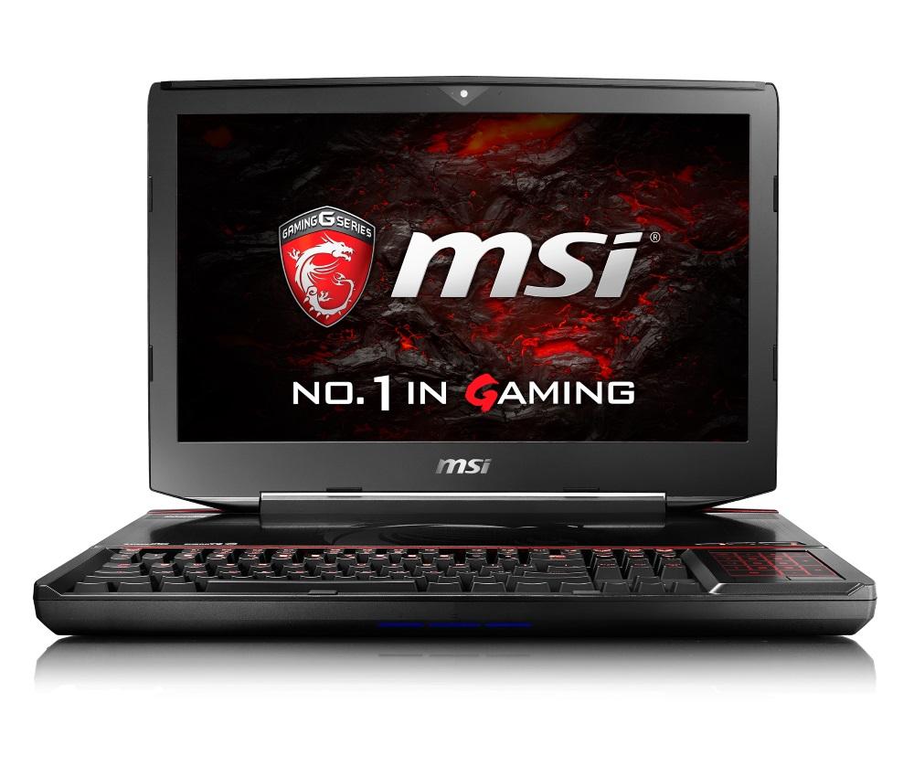 Notebook MSI GT83VR 6RF-041CZ Titan SLI Notebook, 18,4 FHD, i7-6920HQ, 64GB DDR4, 2x 256GB SSD M.2 + 1TB, GTX1080 SLI, BD, W10 Home GT83VR 6RF-041CZ