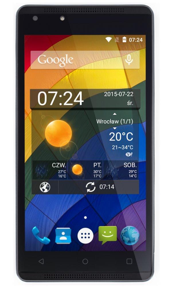 Mobilní telefon myPhone Venum šedý Mobilní telefon, 5 IPS, Dual SIM, 8 GB, 1 GB RAM, Android 5.1, šedý TELMYAVENUMGY
