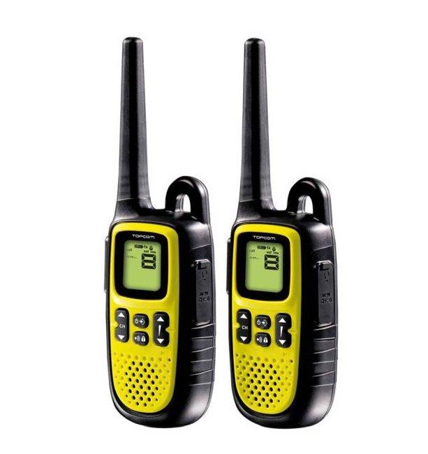 Vysílačka TOPCOM Twintalker 5400 Vysílačka, voděodolná IPX4, dosah 10 km, 2 ks - ROZBALENÉ TOPC3061V