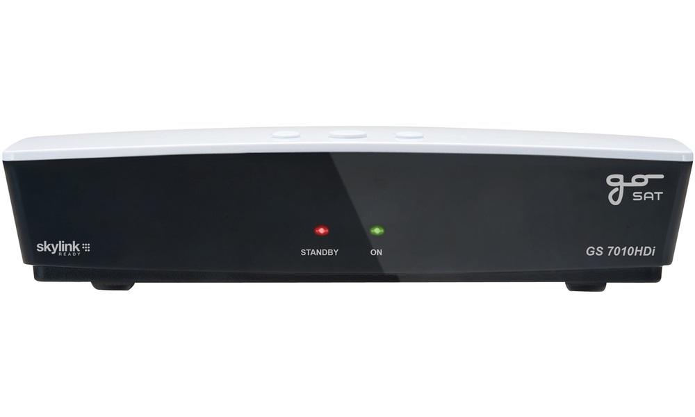 Satelitní přijímač GoSAT GS7010HDi Satelitní přijímač, full HD, certifikovaný podle poslední specifikace r2015 Skylink Ready SRGS7010
