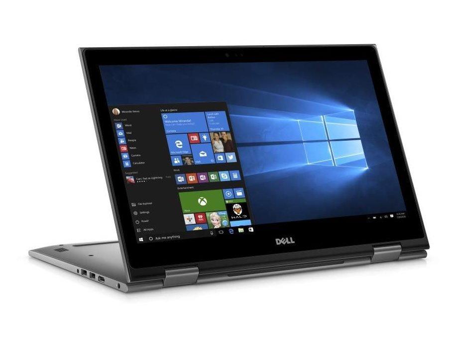 Notebook DELL Inspiron 15z 5000 Touch Notebook, i5-7200U, 8GB, 1TB, 15.6 FHD dotykový, šedý, W10, 2YNBD on-site TN-5578-N2-511S