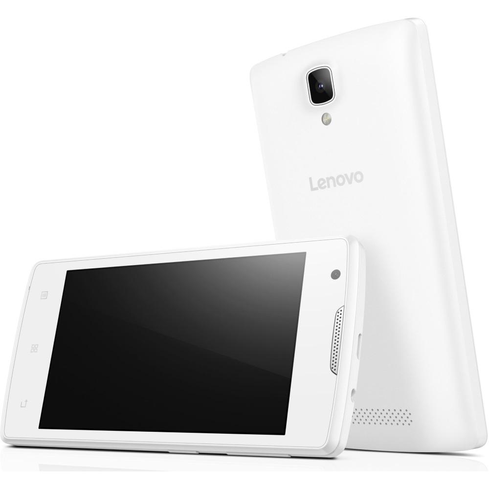 Mobilní telefon Lenovo A bílý Mobilní telefon, Single SIM, 4,0 TN, 800 x 480 x Quad-Core, 1,3 Ghz, 512 MB, 4 GB, 5Mpx, 3G, Android 5.1, White PA490145CZ