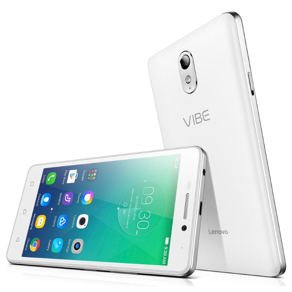 Mobilní telefon Lenovo Vibe P1m bílý Mobilní telefon, Single SIM, 5,0 IPS, 1280x720, Quad-Core, 1,0GHz, 2GB, 16GB, 8Mpx, LTE, Android 5.1, bílý PA1G0055CZ