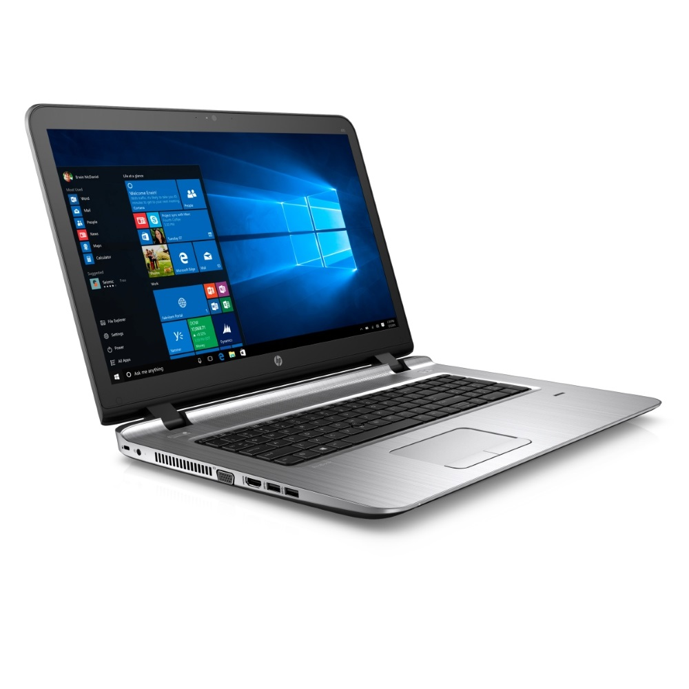 Notebook HP ProBook 470 G3 Notebook, 17,3 FHD, i5-6200U, 4GB DDR4, 256GB SSD + 1x 2,5 slot, R7 M340, HDMI, VGA, W10Pro downgrade W7Pro W4P22ESBCM