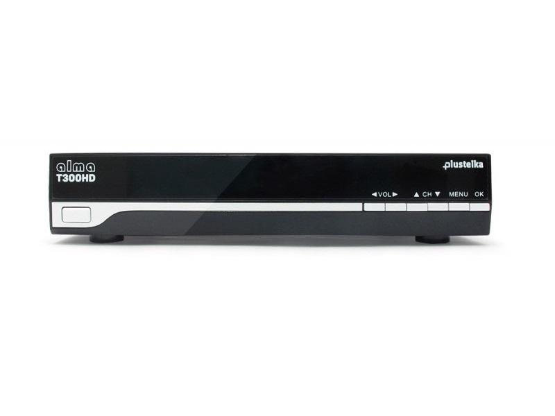 Set-top box Alma T300 HD PLUStelka Set-top box, DVB-T2, HD, Timeshift, PVR, Irdeto, PLUStelka DBTALH0111
