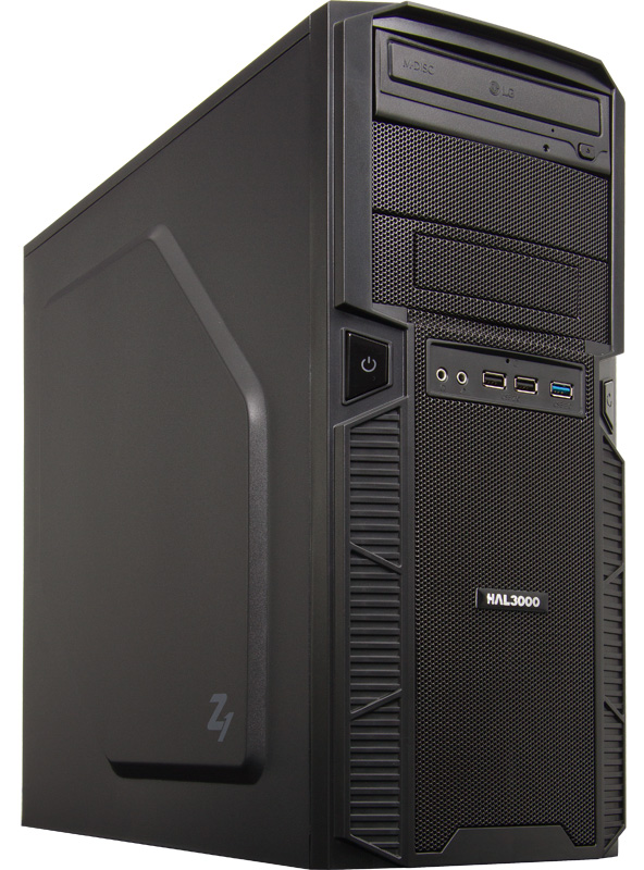 HAL3000 Zeus III Počítač, Intel i5-6500, 8GB, RX 470, 120GB SSD + 1TB, DVD, bez OS PCHS2149