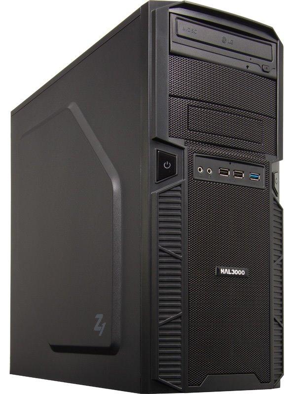 HAL3000 Zeus III W10 Počítač, Intel i5-6500, 8GB, RX 470, 120GB SSD + 1TB, DVD, W10 PCHS21491