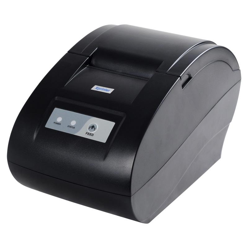 Pokladní tiskárna Xprinter 58-IIN Pokladní tiskárna, rychlost 90 mm/s, průměr až 60 mm, USB