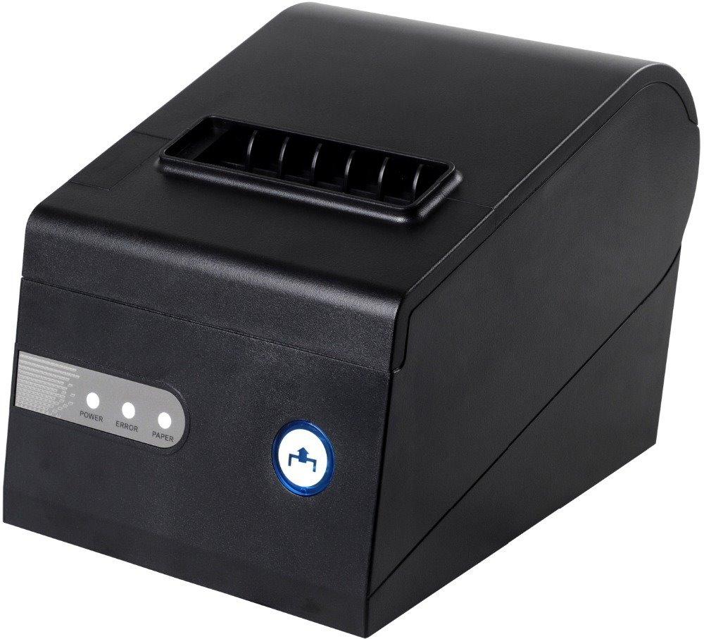 Pokladní tiskárna Xprinter C260-K Pokladní tiskárna, rychlost 260 mm/s, šířka až 80 mm, USB, LAN, serial port, autocutter