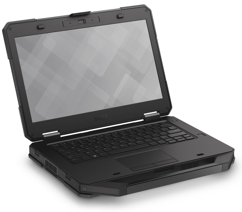 Notebook DELL Latitude 5414 Rugged Notebook, i7-6600U, 8 GB, 256 GB SSD, 14 dotykový, 4G LTE, W10Pro, vPro, 3Y NBD on-site 699XR