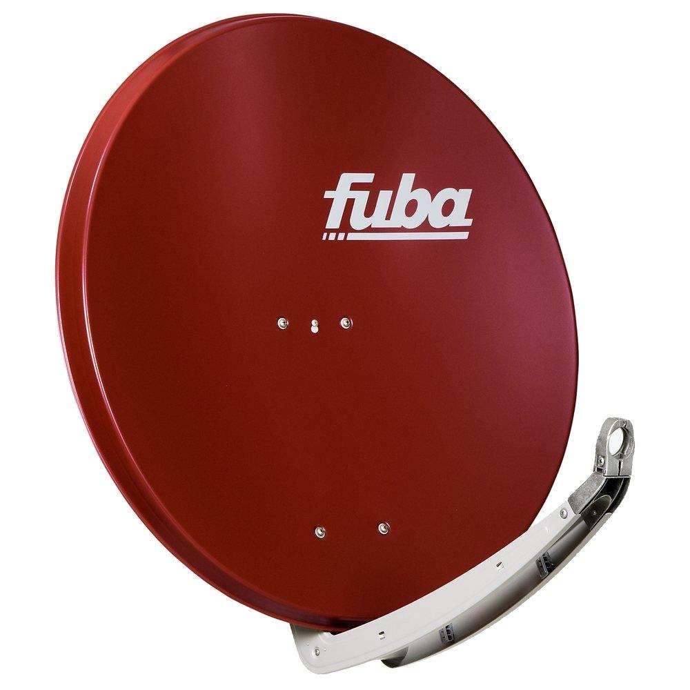 Parabola FUBA 85Al červená Parabola, 85 x 85 cm, hliník, červená barva, včetně příslušenství PA85FUALRED