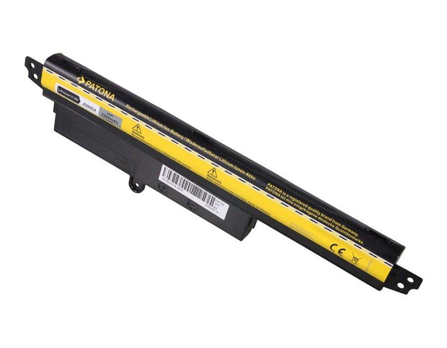 Baterie PATONA pro notebook ASUS X200 2200 mAh Baterie, pro notebook ASUS X200, 2200 mAh, Li-Pol, 11,1V PT2460