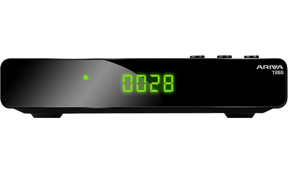 Set-top box FERGUSON Ariva T265 Set-top box, DVB-T2, Full HD, MPEG1/2/4, H.265/HEVC, HDMI, PVR, USB, Wi-Fi SRFEART265