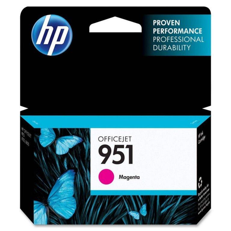 Inkoustová náplň HP 951 CN051AE purpurová Inkoustová náplň, originální, pro tiskárny HP Officejet Pro 276dw, 251dw, 8100, 8600, 8600, 8610, 8620, 700 stran, purpurová CN051AE
