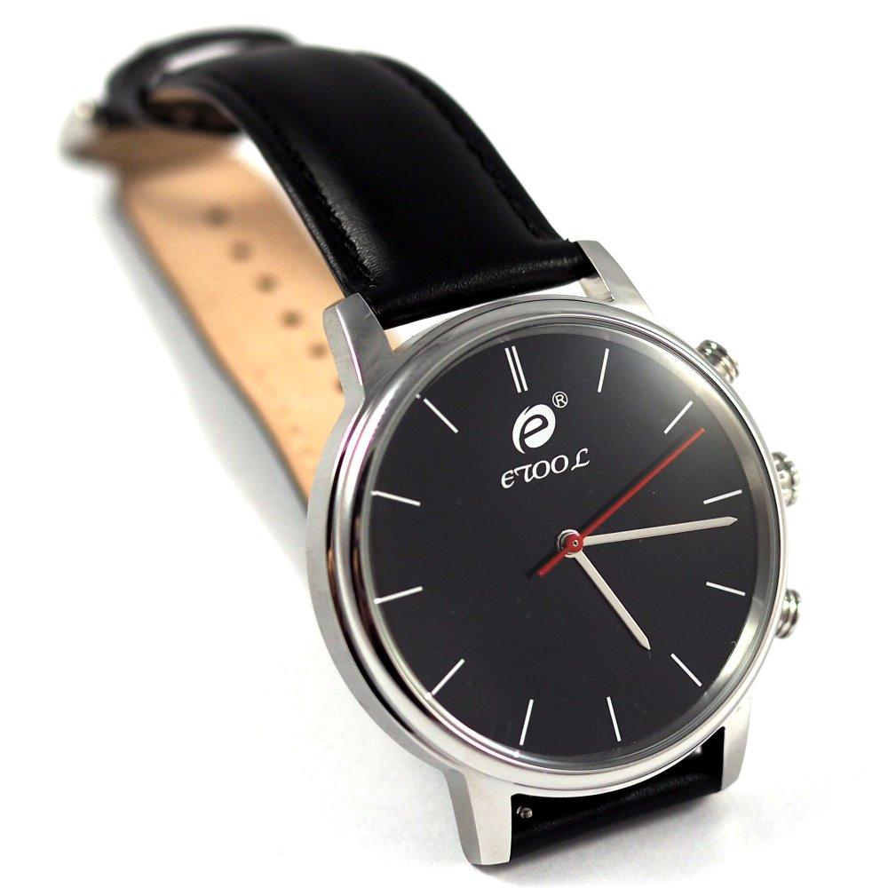 Chytré hodinky Deveroux SW9 stříbrné Chytré hodinky, s měřením kroků a tepu WEAR0010