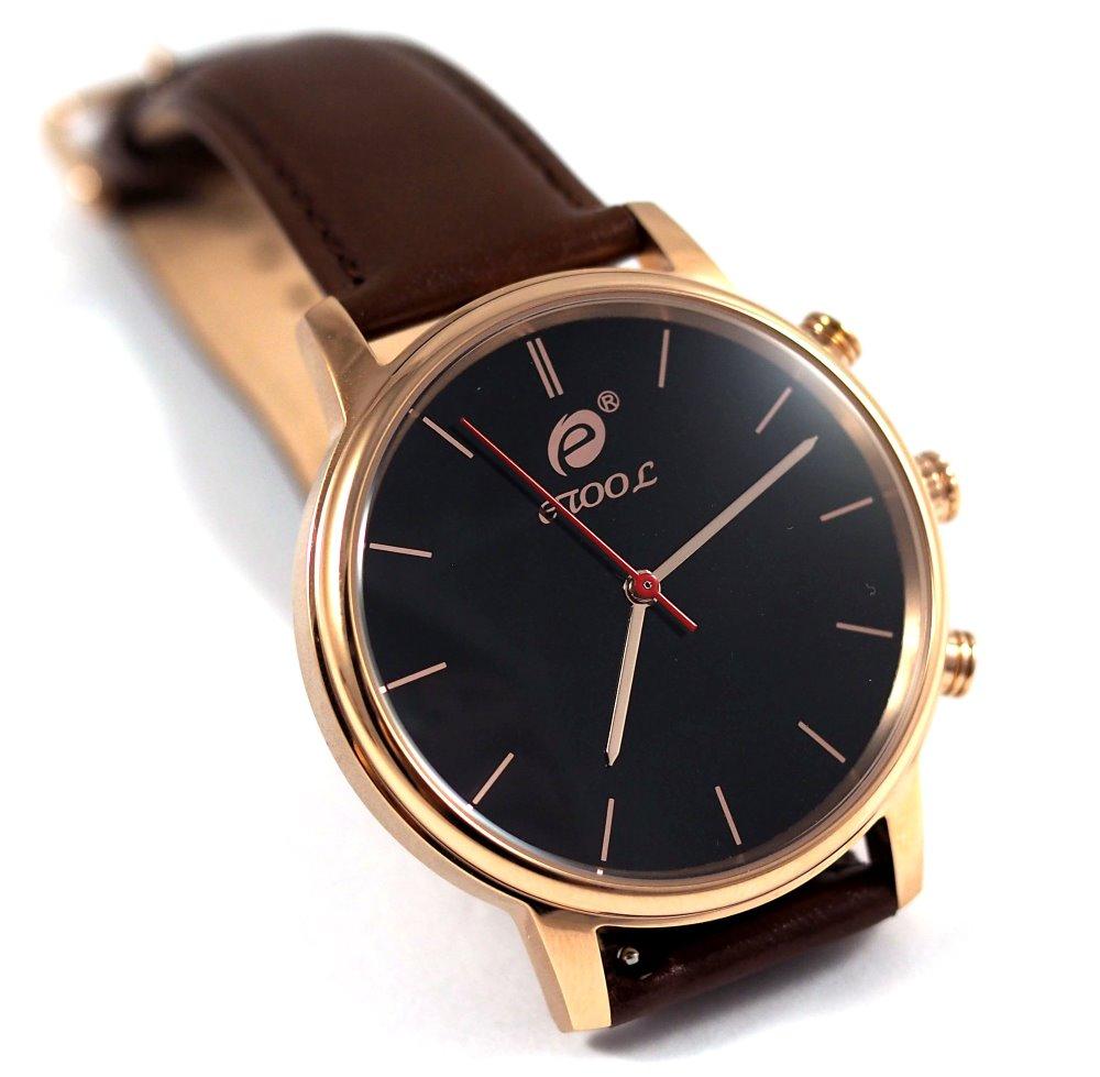 Chytré hodinky Deveroux SW9 zlaté Chytré hodinky, s měřením kroků a tepu WEAR0011