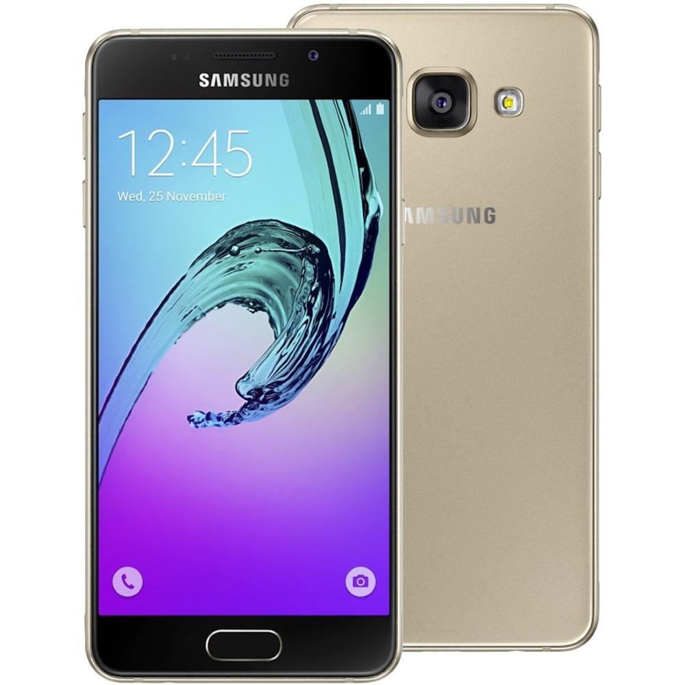Mobilní telefon Samsung Galaxy A3 Mobilní telefon, dotykový, 4,7, 1,5 GB RAM, 16 GB, LTE, Android 5.1, zlatý SM-A310FZDAETL