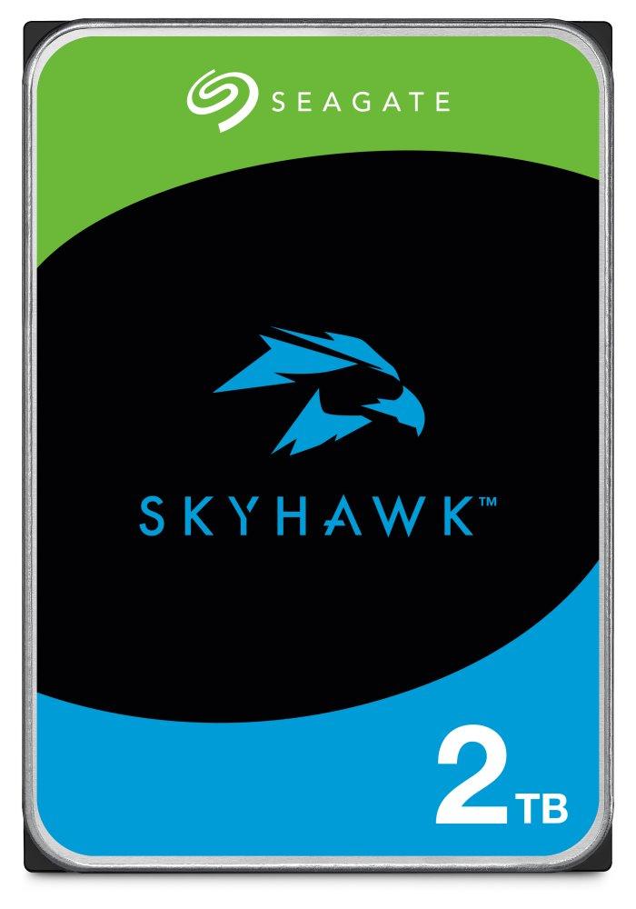 Pevný disk Seagate SkyHawk 2 TB Pevný disk, 2 TB, interní, 3,5, 7200 rpm, SATA 6 Gb/s, 64 MB ST2000VX008