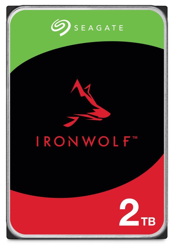 Pevný disk Seagate IronWolf 2 TB Pevný disk, 2 TB, interní, 3,5, 7200 rpm, SATA 6 Gb/s, 64 MB ST2000VN004