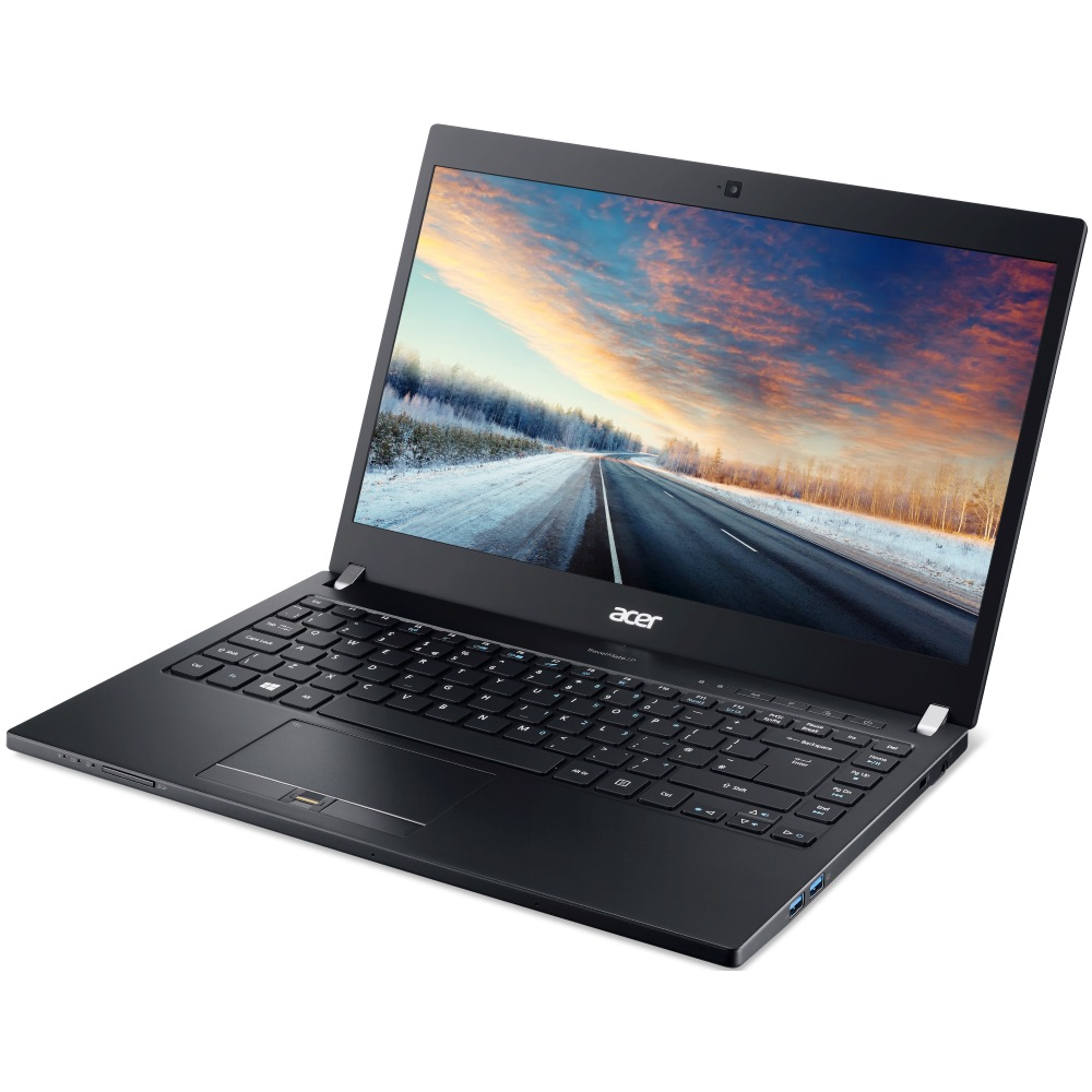 Notebook Acer TravelMate TMP-648-MG-77DL Notebook, i7-6500U, 12GB, 512GB SSD, 14 FHD IPS, GF 940M 2GB, LTE, W7P+W10P 64bit, Carbon, Černý NX.VCPEC.001