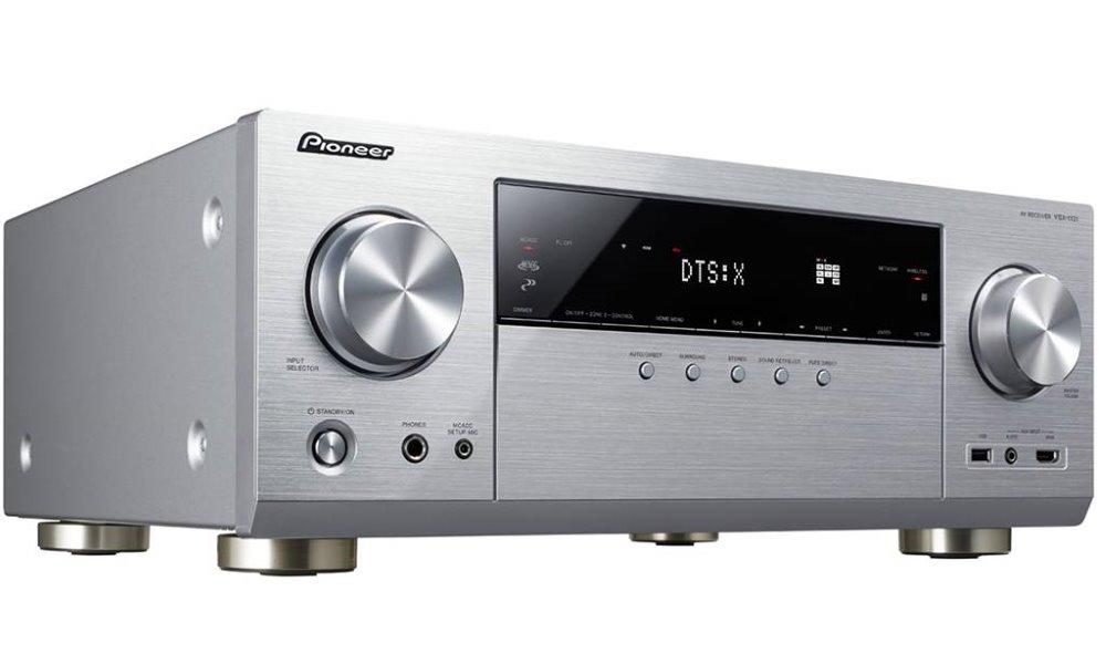 AV přijímač PIONEER VSX-1131-S AV přijímač, 7.2, stříbrný VSX-1131-S