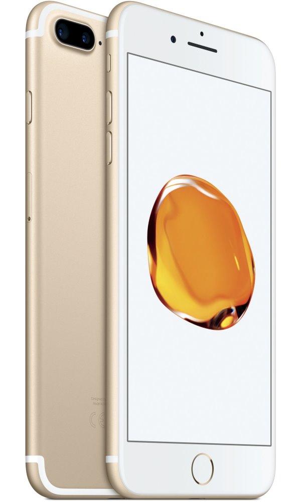 Mobilní telefon Apple iPhone 7 Plus 128 GB Gold Mobilní telefon, 5,5 IPS, 128 GB, LTE, Wi-FI, GPS, voděodolný, zlatý mn4q2cn/a