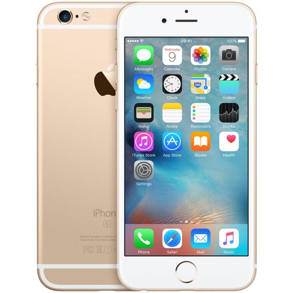 Mobilní telefon Apple iPhone 6s 32 GB zlatý Mobilní telefon, dotykový, 4,7 Retina, HD, 32 GB, iOS 9, zlatý mn112cn/a