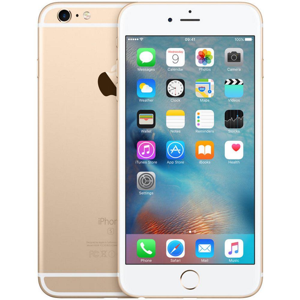 Mobilní telefon Apple iPhone 6s Plus 32 GB zlatý Mobilní telefon, dotykový, 5,5 Retina, HD, 32 GB, iOS 9, zlatý mn2x2cn/a