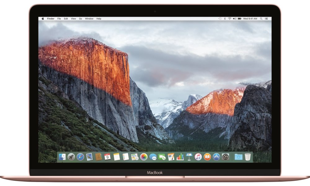Notebook Apple MacBook 12 Rose Gold Notebook, Core m5 1.2 GHz, 8 GB, 512 GB, Intel HD 515, růžový mmgm2cz/a