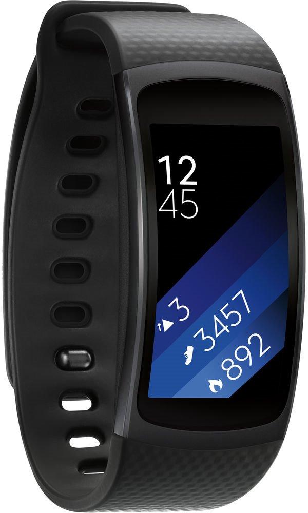 Fitness náramek Samsung Galaxy Gear Fit2 R360 Fitness náramek, 1,5, 512 MB. 4 GB, GPS, tmavě šedý SM-R3600DAAXEZ