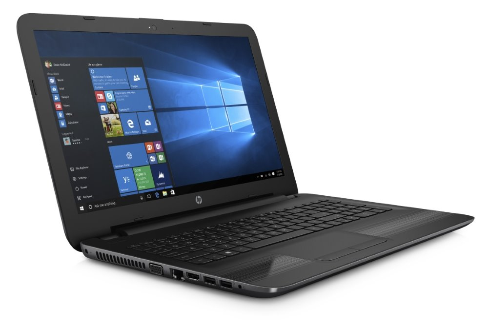 Notebook HP 255 G5 Notebook, 15,6 HD, E2-7110, 4 GB, 128 GB SSD, AMD Radeon R2, HDMI, VGA, RJ-45, W10 Home X0P90EABCM