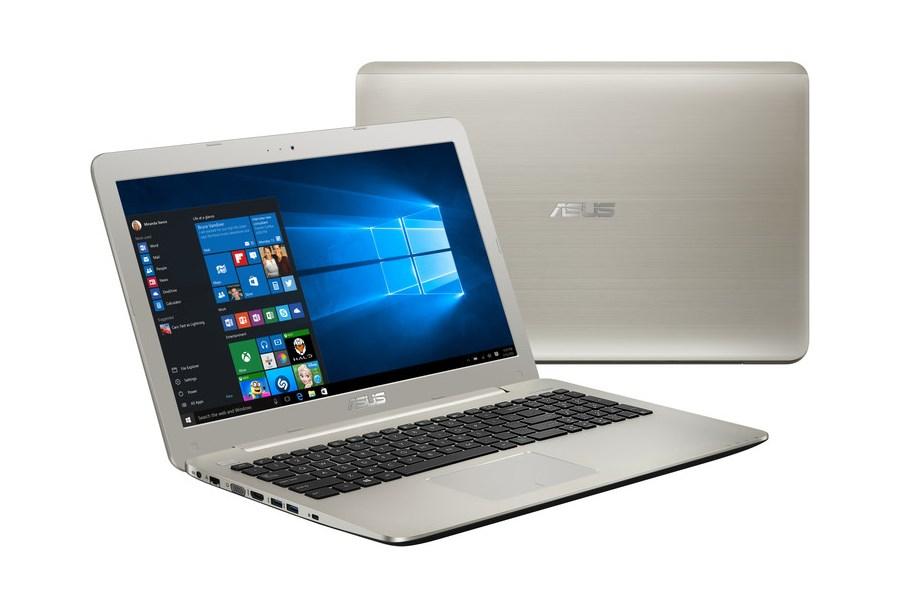 Notebook ASUS U555UB-FI180T Notebook, i7-6500U, 8GB, 256GB SSD, 15,6 UHD 4K IPS, DVD, 940M 2GB, W10, kovově zlatý U555UB-FI180T