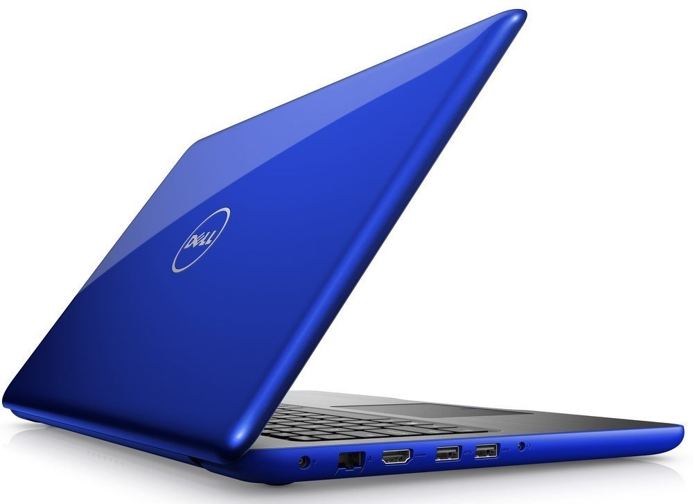 Notebook DELL Inspiron 15 5000 Notebook, i5-7200U, 4 GB, 1 TB, DVDRW, 15.6, W10, modrý, 2YNBD on-site N-5567-N2-511B