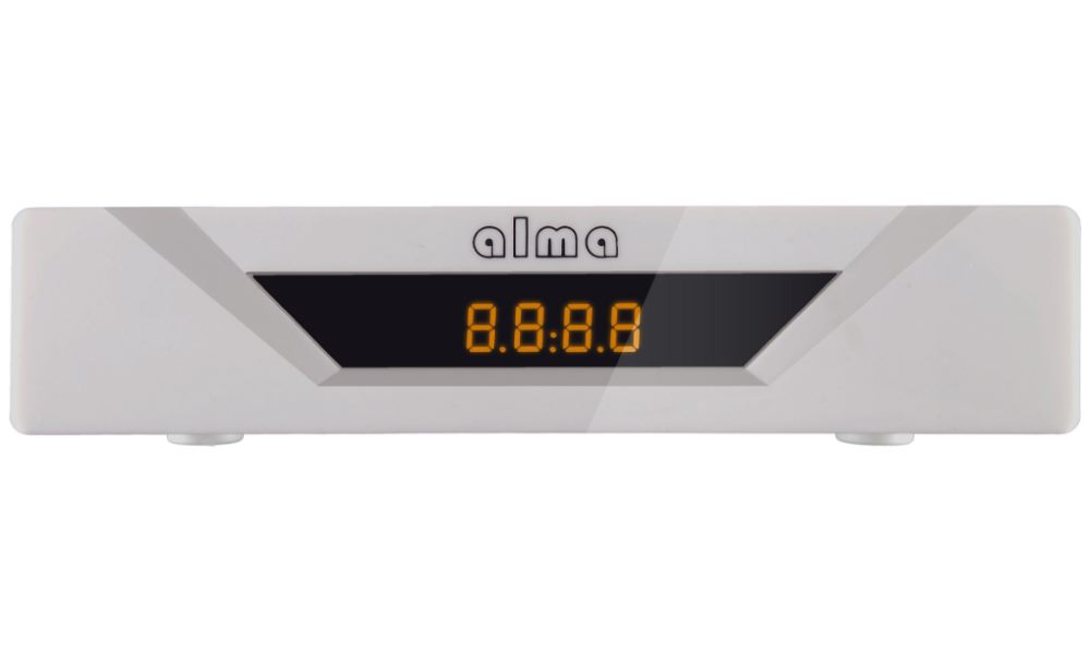 Set-top-box ALMA 2781 Set-top-box, DVB-T2, Full HD, USB, SCART, bílý DBTALH1133