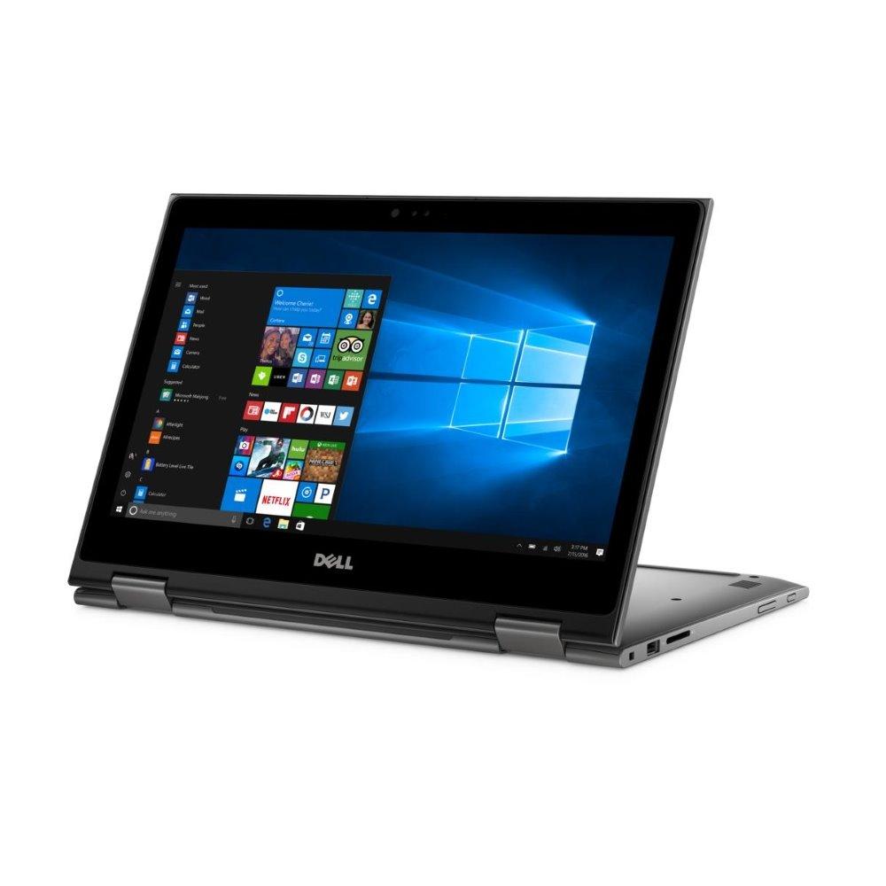 Notebook DELL Inspiron 13z 5000 Touch Notebook, i5-7200U, 4GB, 128GB SSD, 13.3 FHD dotykový, W10 Pro, šedý, 3YNBD on-site 5378-5648