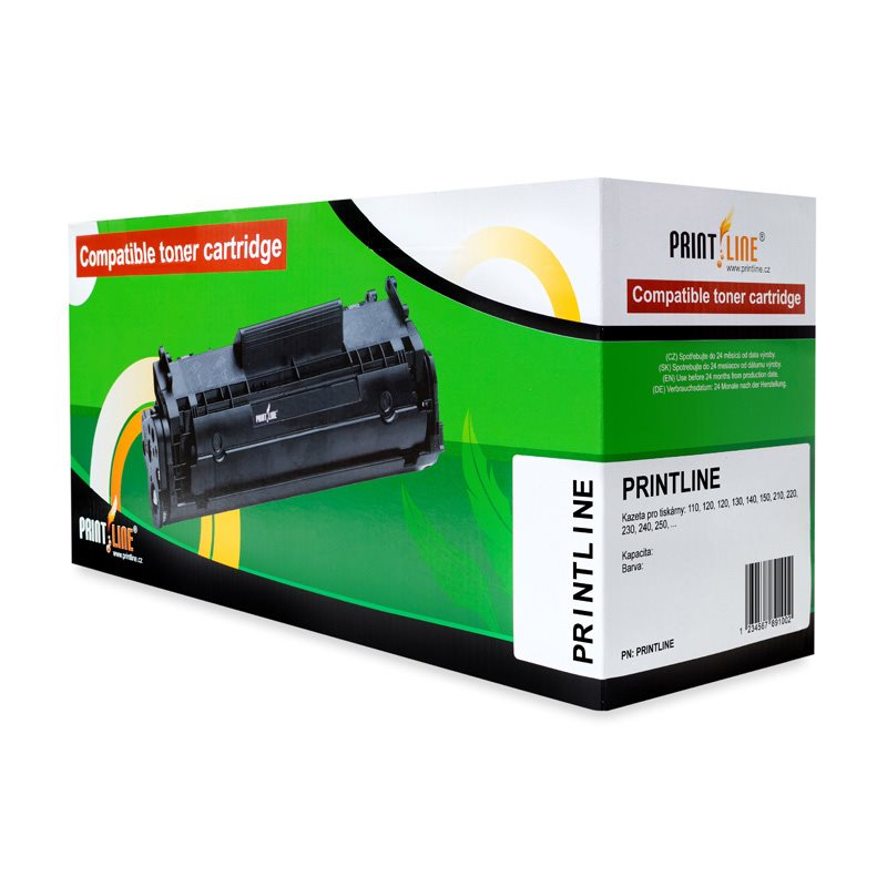 Toner PRINTLINE za HP CE271A azurový Toner, kompatibilní s HP CE271A, No.650A, azurový DH-271A