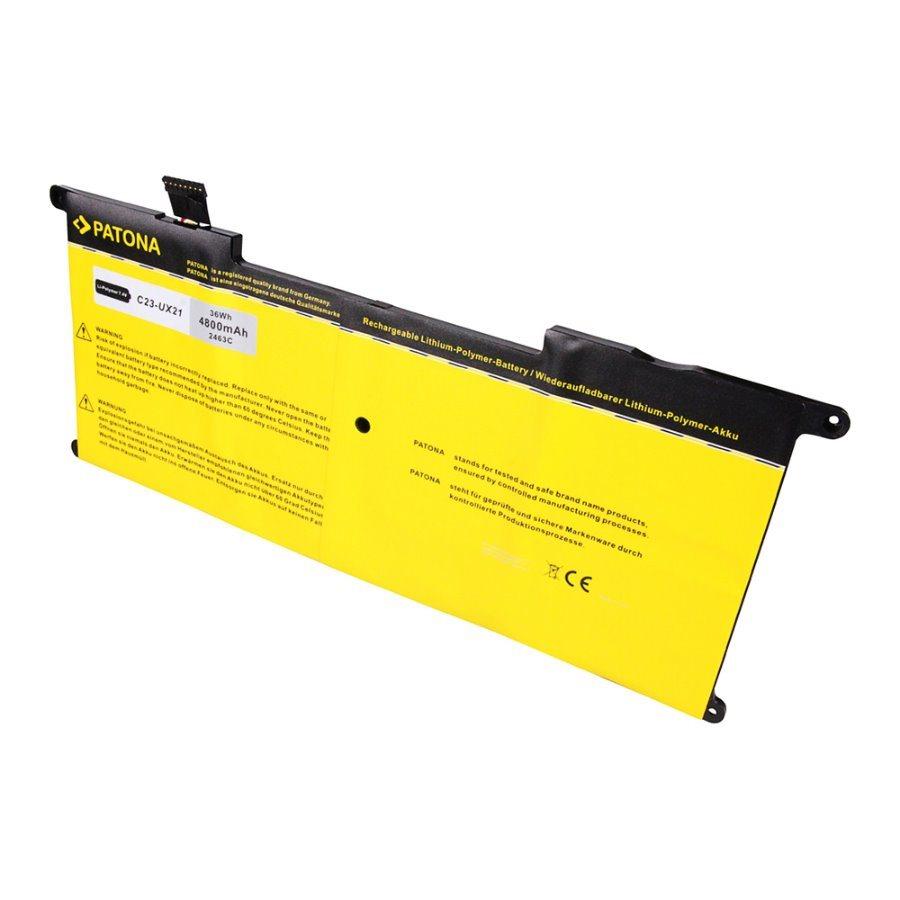 Baterie PATONA pro notebook ASUS UX21 4800mAh Baterie, pro notebook ASUS UX21, 4800mAh, Li-pol, 7,4V PT2463